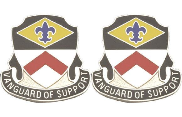 9th Finance Battalion Distinctive Unit Insignia - Pair