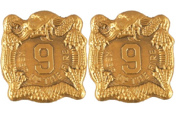 9th Infantry Regiment Distinctive Unit Insignia - Pair
