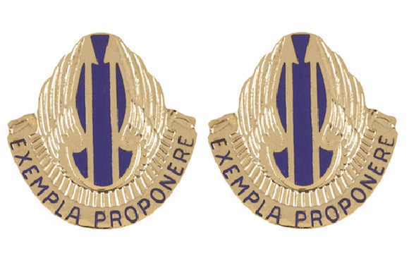 11th Aviation Distinctive Unit Insignia - Pair - EXEMPLA PROPONERE