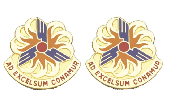 12th Aviation Brigade Distinctive Unit Insignia - Pair