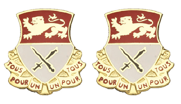 15th Cavalry Distinctive Unit Insignia - Pair