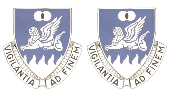 15th Military Intelligence Battalion Distinctive Unit Insignia - Pair