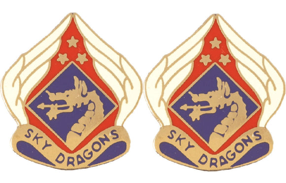 18th Airborne Corps Distinctive Unit Insignia - Pair