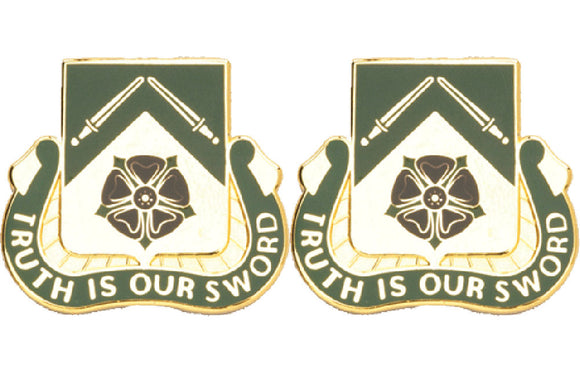 19th Military Police Battalion Distinctive Unit Insignia - Pair