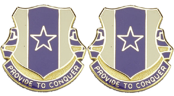 30th Quartermaster Battalion Distinctive Unit Insignia - Pair