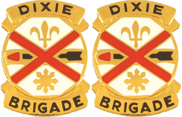 31st Armor Brigade Distinctive Unit Insignia - Pair
