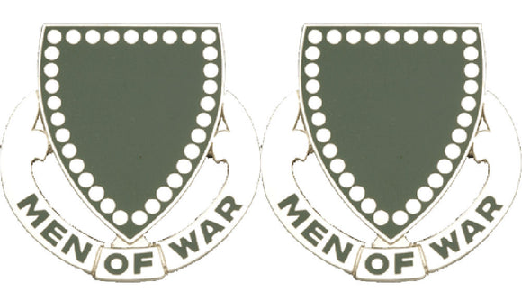 33rd Armor Distinctive Unit Insignia - Pair