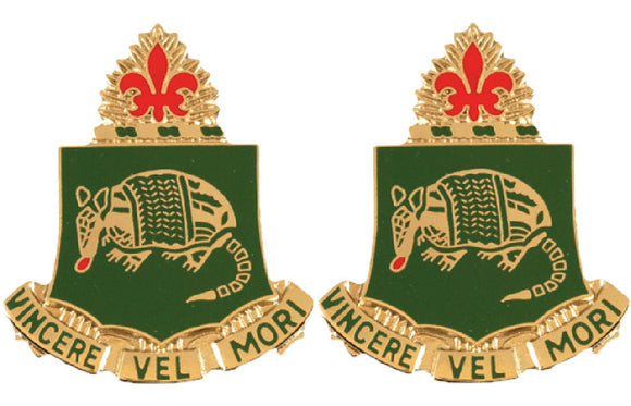 35th Armor Distinctive Unit Insignia - Pair