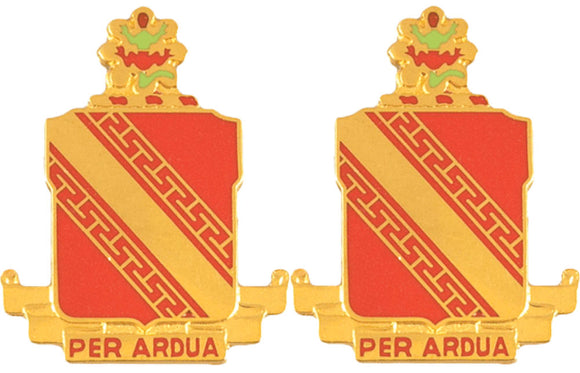 44th Air Defense Artillery Distinctive Unit Insignia - Pair
