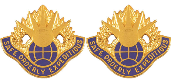 58th Aviation Battalion Distinctive Unit Insignia - Pair