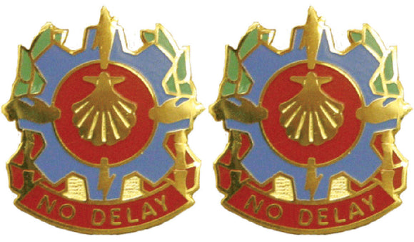 67th Maintenance Company Distinctive Unit Insignia - Pair - NO DELAY