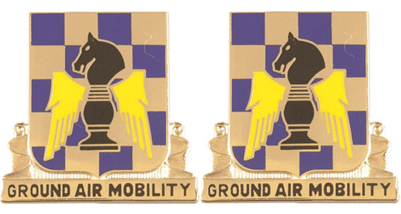 82nd Aviation Battalion Distinctive Unit Insignia - Pair