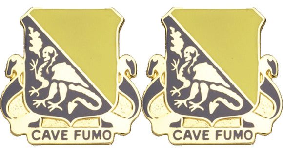 84th Chemical Battalion Distinctive Unit Insignia - Pair