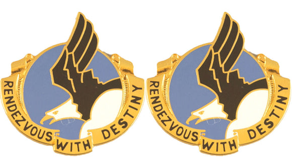 101st Airborne Division Distinctive Unit Insignia - Pair - Rendezvous with Destiny