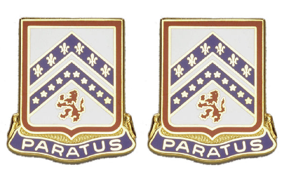 103rd Engineering Battalion Distinctive Unit Insignia - Pair - PARATUS