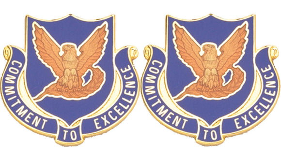 106th Aviation Distinctive Unit Insignia - Pair - COMMITMENT TO EXCELLENCE