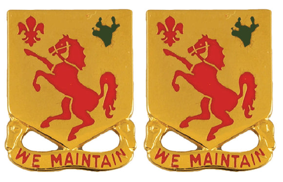 113th Armor Distinctive Unit Insignia - Pair - WE MAINTAIN