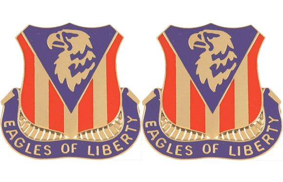 114th Aviation Regiment Distinctive Unit Insignia - Pair - EAGLES OF LIBERTY