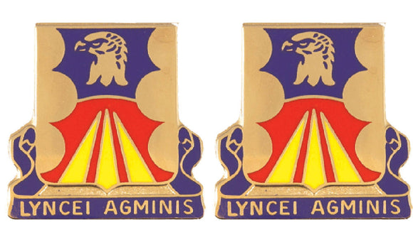 147th Aviation Battalion Distinctive Unit Insignia - Pair - LYNCEI ADMINIS