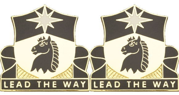 151st Cavalry Distinctive Unit Insignia - Pair - LEAD THE WAY