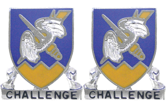 158th Aviation Distinctive Unit Insignia - Pair - CHALLENGE