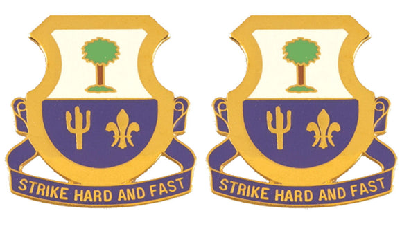163rd Cavalry Distinctive Unit Insignia - Pair