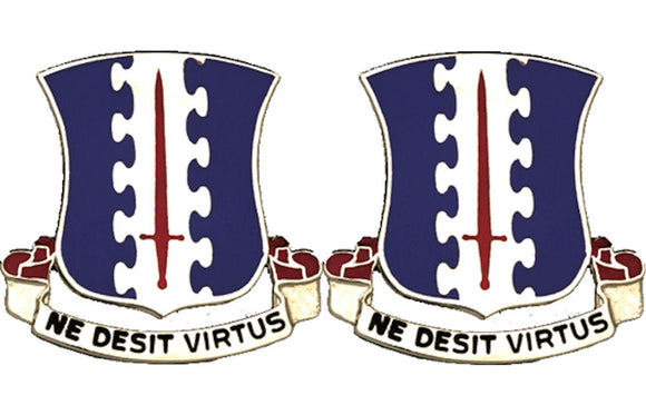 187th Infantry Distinctive Unit Insignia - Pair