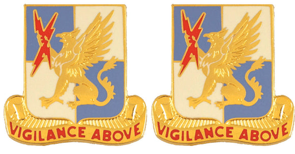 224th MILITARY INTELLIGENCE BATTALION Distinctive Unit Insignia - Pair