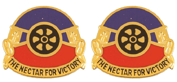 260th QUARTERMASTER Distinctive Unit Insignia - Pair