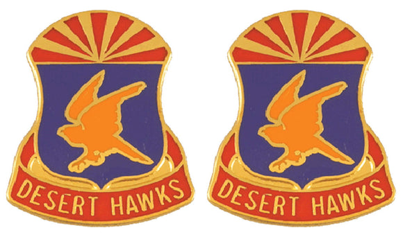 285th AVIATION REGIMENT Distinctive Unit Insignia - Pair
