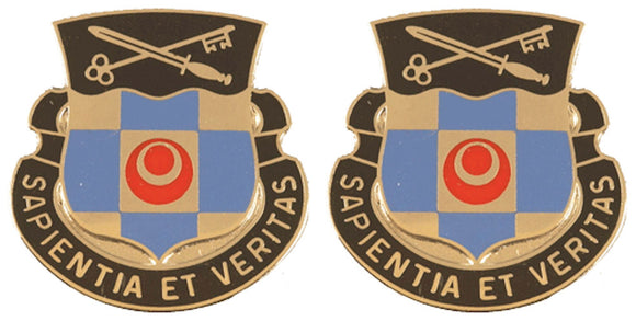 314th MILITARY INTELLIGENCE BATTALION Distinctive Unit Insignia - Pair