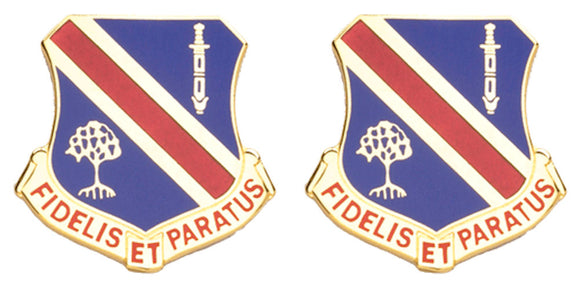 372nd MAINTENANCE COMPANY Distinctive Unit Insignia - Pair