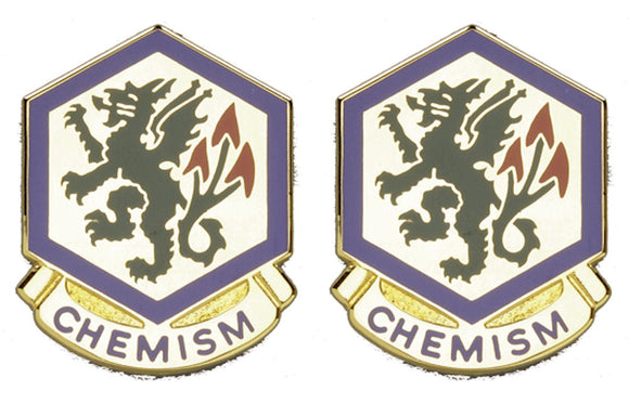 415th CHEMICAL BDE Distinctive Unit Insignia - Pair
