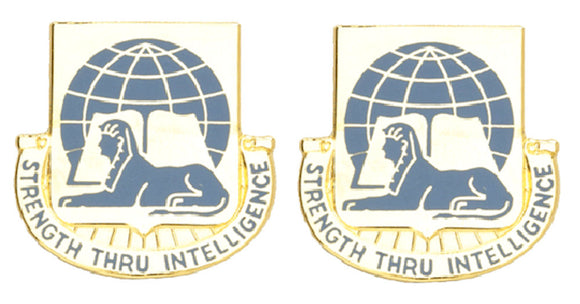 519th MILITARY INTELLIGENCE Distinctive Unit Insignia - Pair