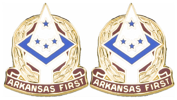 ARKANSAS STARC Distinctive Unit Insignia - Pair