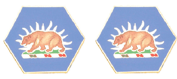 CALIFORNIA STARC Distinctive Unit Insignia - Pair