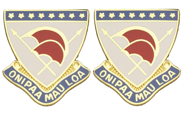 HAWAII STARC Distinctive Unit Insignia - Pair