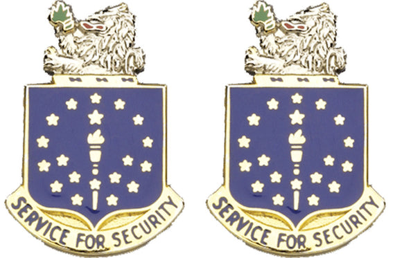 INDIANA STARC Distinctive Unit Insignia - Pair