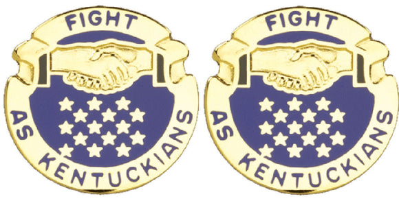 KENTUCKY STARC Distinctive Unit Insignia - Pair