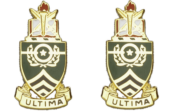 SERGEANTS MAJOR ACADEMY Distinctive Unit Insignia - Pair