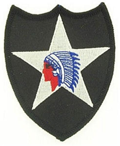 2nd Infantry Division Small Novelty Patch