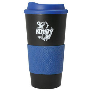 U.S. Navy Anchor Grip N Go Mug