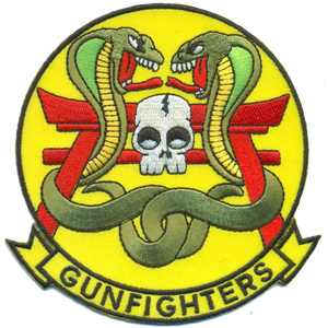 HMLA-369 Gunfighters Friday USMC Patch