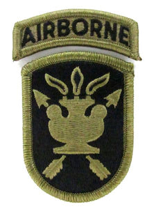JFK Special Warfare Center OCP Patch with AIRBORNE TAB