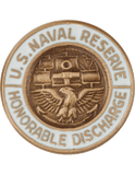 U.S. Navy Reservist Honorable Discharge Lapel Pin
