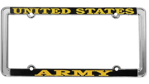 U.S. Army Thin Rim License Plate Frame