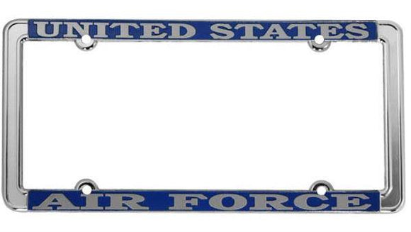 U.S. Air Force Thin Rim License Plate Frame