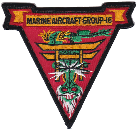 MAG-16 MCCUU Air Wing USMC Patch - Marine Aircraft Group