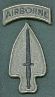 Special Operations Command with Airborne Tab Subdued
