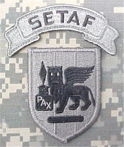 Southern European Task Force ACU Patch